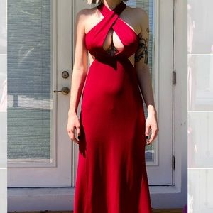 NWT red prom/ formal dress